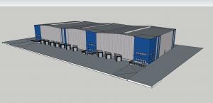 """Nieuwbouw distributiecentrum industrieterrein """"De Sluis"""" in Weurt"""